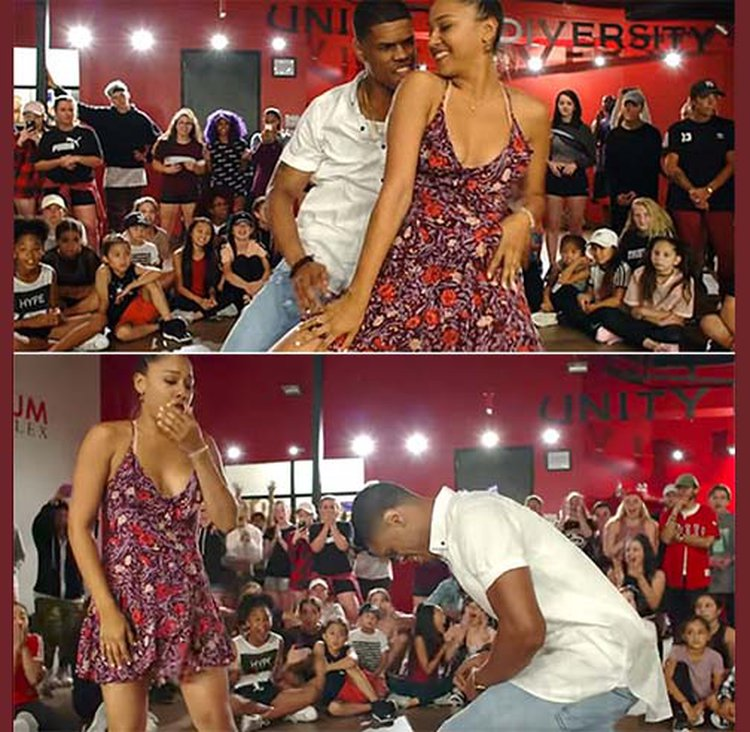 Choreographer With All the Right Moves Proposes During Dance Routine; Video Goes Viral