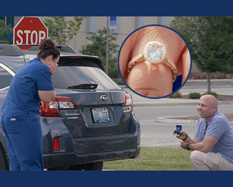 Injured Officer Recruits University of Kentucky Police to Assist With Traffic-Stop Marriage Proposal