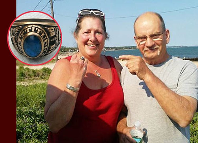 Dream Comes True: LI Woman Reunited With Class Ring She Lost in Peconic Bay 36 Years Ago