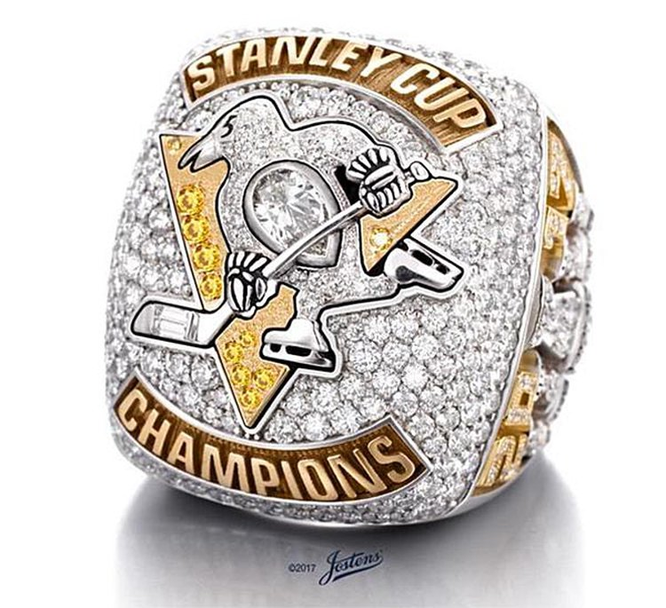 Pittsburgh Penguins Celebrate Back-to-Back Stanley Cups With Eye-Popping Championship Rings