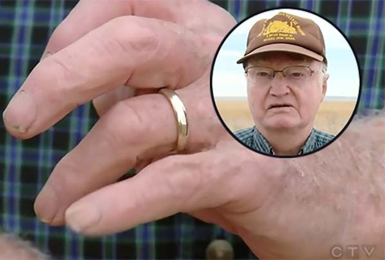 Farmer's Lost Wedding Ring Recovered on Dirt Road 45 Years Later