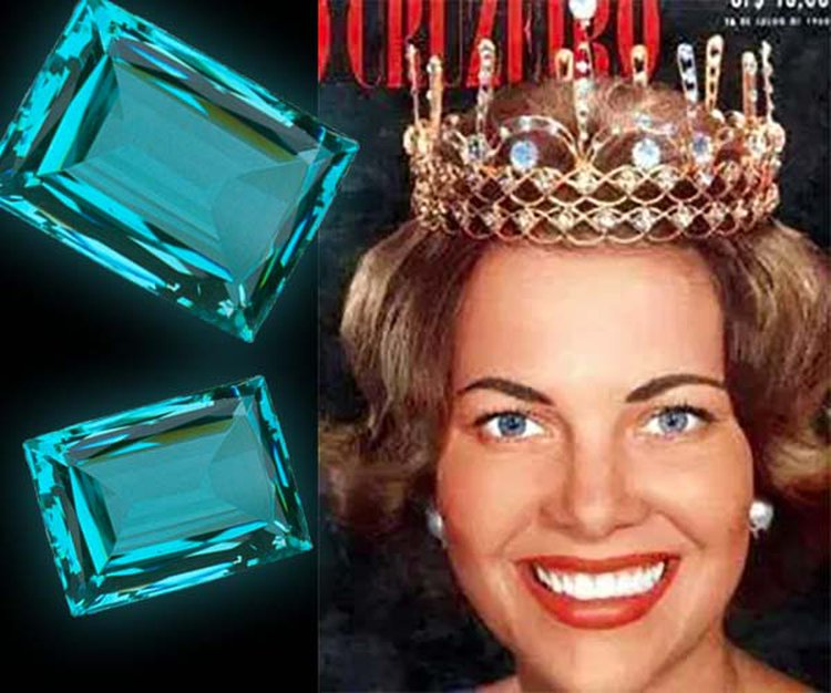 Here's How a 1950s Brazilian Beauty Queen Is Forever Linked With March's Birthstone