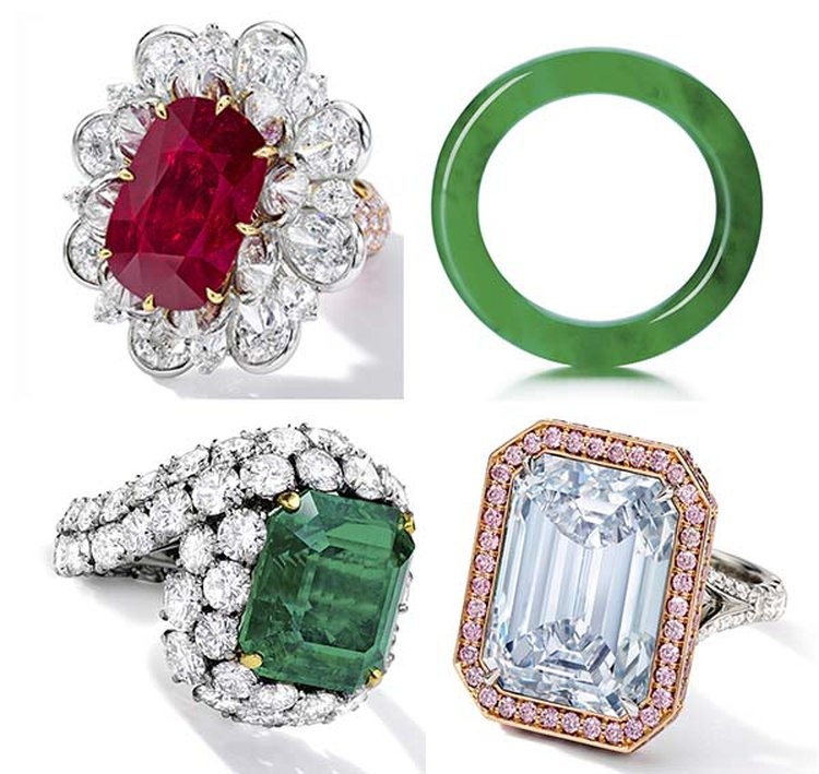 24.70-Carat Ruby Ring and 'Circle of Heaven' Jadeite Bracelet Share Top Billing at Sotheby's Auction
